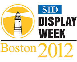 SID Display Week logo 2012