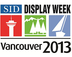 SID Display Week logo for Vancouver 2013